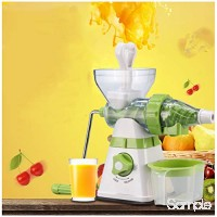 YILANS Extracteur De Jus Presse-Fruits Manuel Machine Multifonctionnelle De Crème Glacée De Jus De Fruit Presse-Fruits Blé Herbe Presse-Fruits Kale Épinards Persil Fruit B07T84RX8Q